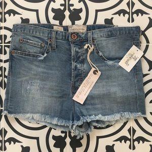 Band of gypsies jean shorts